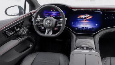 Mercedes-AMG EQS 53 4Matic+: interni