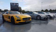 Mercedes AMG festeggia i 50 anni della gamma all'Autodromo di Monza