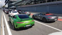 Mercedes AMG festeggia i 50 anni della gamma a Monza - Immagine: 4