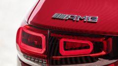 Mercedes-AMG GLB 35: dettaglio badge AMG