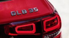 Mercedes-AMG GLB 35: dettaglio badge posteriore
