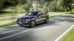 Mercedes-AMG GLC 43 Coupé: cambio automatico doppia frizione 9G-Tronic con paddle al volante