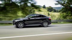 Mercedes-AMG GLC 43 Coupé: la velocità massima e limitata elettronicamente a 250 km/h