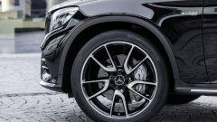 Mercedes-AMG GLC 43 Coupé: poggia su grossi cerchi da 19 pollici. Come optional sono presenti anche da 21