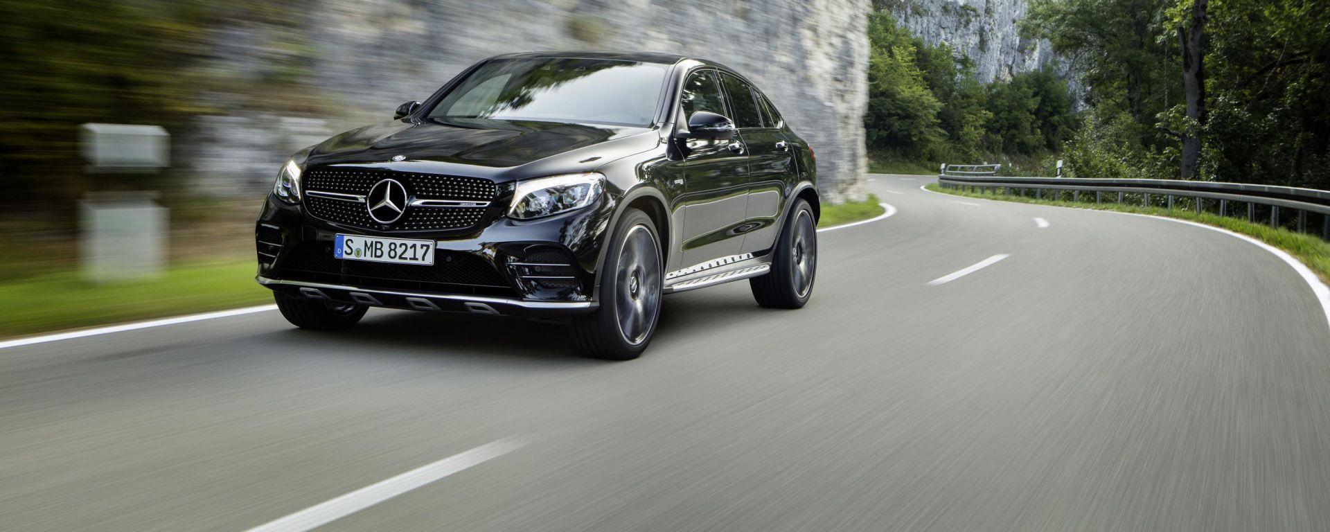Mercedes-AMG GLC 43 Coupé: sotto il cofano batte il cuore dei 367 cv del 3.0 V6 biturbo