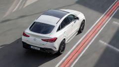 Mercedes-AMG GLE 63 4MATIC+ Coupé: visuale dall'alto
