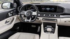 Mercedes AMG GLE 63 S: dettaglio degli interni