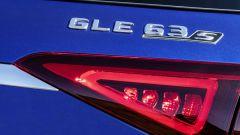 Mercedes AMG GLE 63 S: il badge posteriore