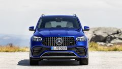 Mercedes AMG GLE 63 S: il frontale