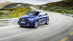 Mercedes AMG GLE 63 S: vista frontale