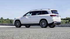 Mercedes AMG GLS 63: visuale laterale