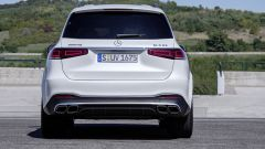 Mercedes AMG GLS 63: visuale posteriore