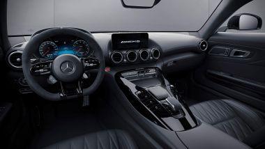 Mercedes-AMG GT 2021: l'abitacolo