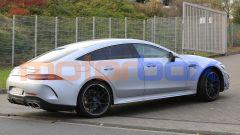 Mercedes-AMG GT 4, la super coupé si aggiorna. Foto spia - Immagine: 3