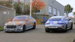 Mercedes-AMG GT 4, la super coupé si aggiorna. Foto spia - Immagine: 7