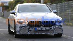 Mercedes-AMG GT 4, la super coupé si aggiorna. Foto spia - Immagine: 9