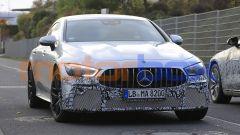 Mercedes-AMG GT 4, la super coupé si aggiorna. Foto spia - Immagine: 10