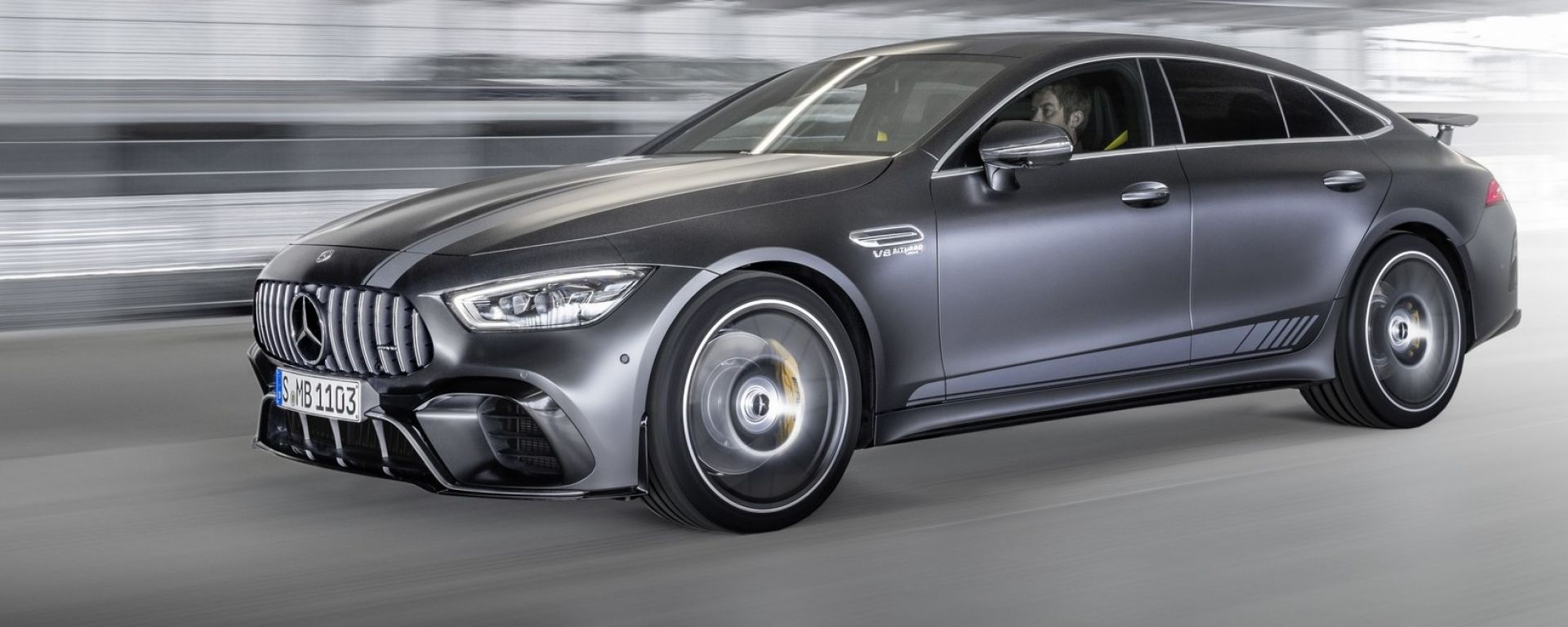 Mercedes AMG GT 4 porte 63 S 4Matic Edition 1
