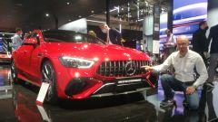 IAA 2021: Mercedes-AMG GT S E Performance (ibrida plug-in). Video