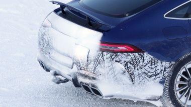Mercedes-AMG GT 73 EQ Power+ 4 Coupé: i 4 scarichi posteriori