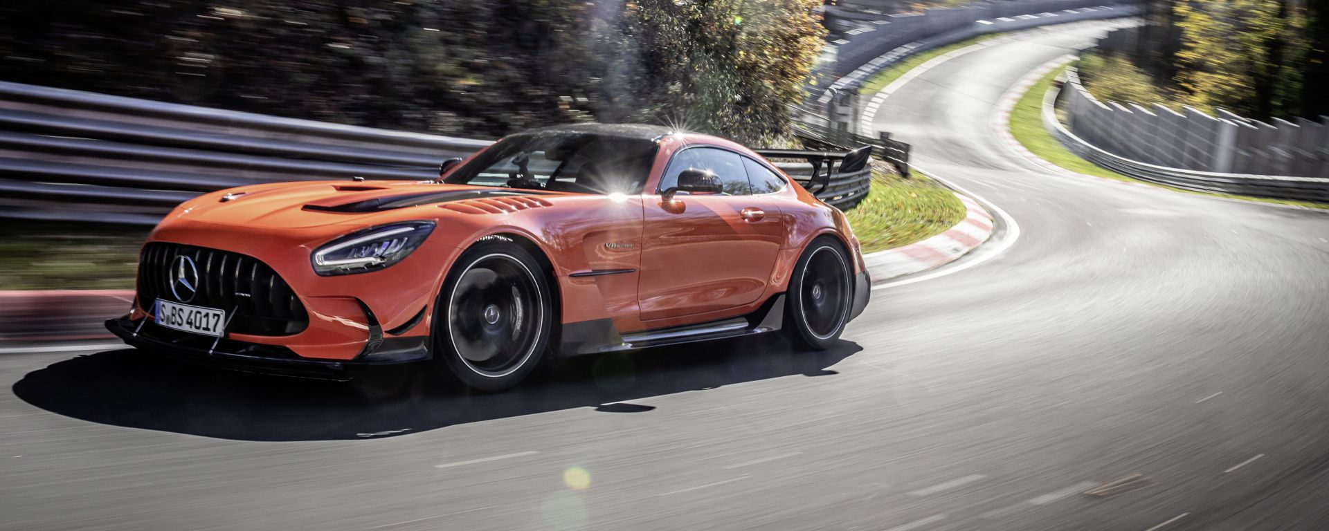 Mercedes-AMG GT Black Series: 3/4 anteriore