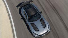 Mercedes-AMG GT Black Series dall'alto