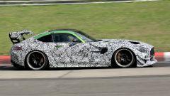 Mercedes-AMG GT Black Series, foto spia dal 'Ring