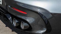 Mercedes-AMG GT Black Series gli scarichi