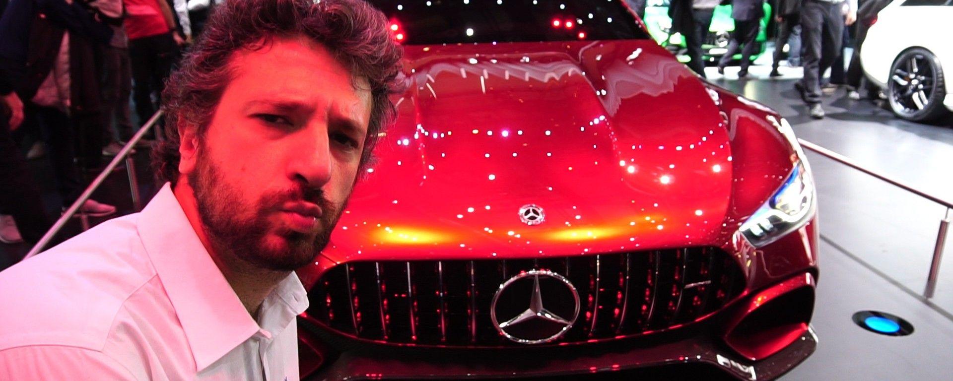 Mercedes-AMG GT Concept e Classe E: in video dal Salone di Ginevra 2017