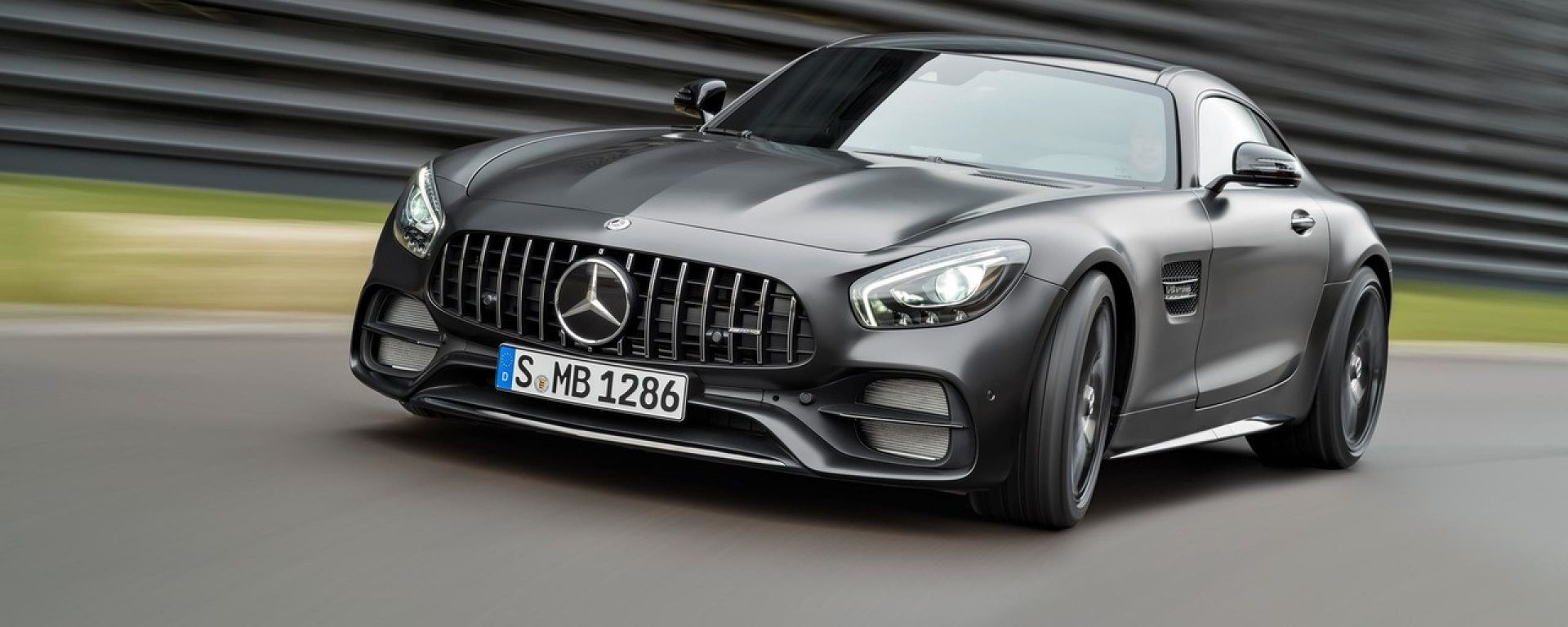 Mercedes AMG GT MY 2017: a Detroit arriva il facelift