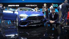 Mercedes AMG GT Coupè4: in video dal Salone di Ginevra 2018 - Immagine: 1