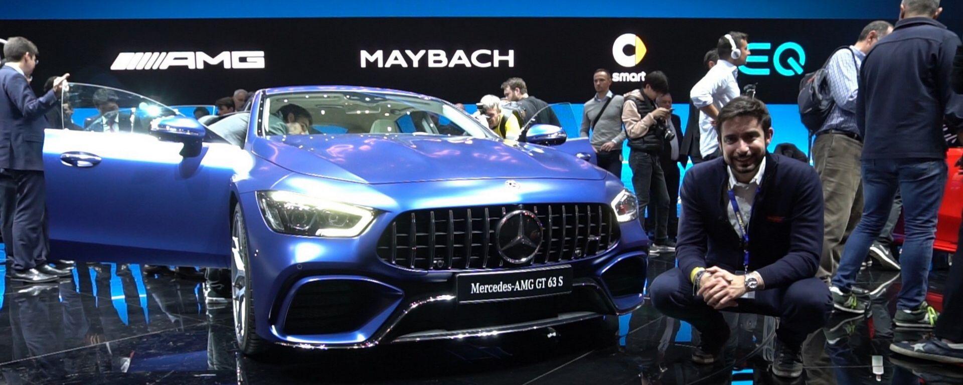 Mercedes AMG GT Coupè4: in video dal Salone di Ginevra 2018