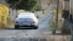 Mercedes-AMG GT quattro porte: la coda con camuffatura leggera