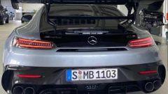 Mercedes-AMG GT R Black Series: l'imponente posteriore col diffusore, i 4 scarichi e l'alettone