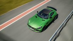 Mercedes-AMG GT R con vernice Green hell magno