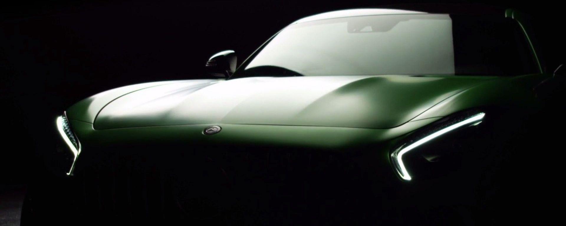 Mercedes-AMG GT R: la calandra è rovesciata