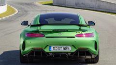 Mercedes-AMG GT R, la vista del posteriore