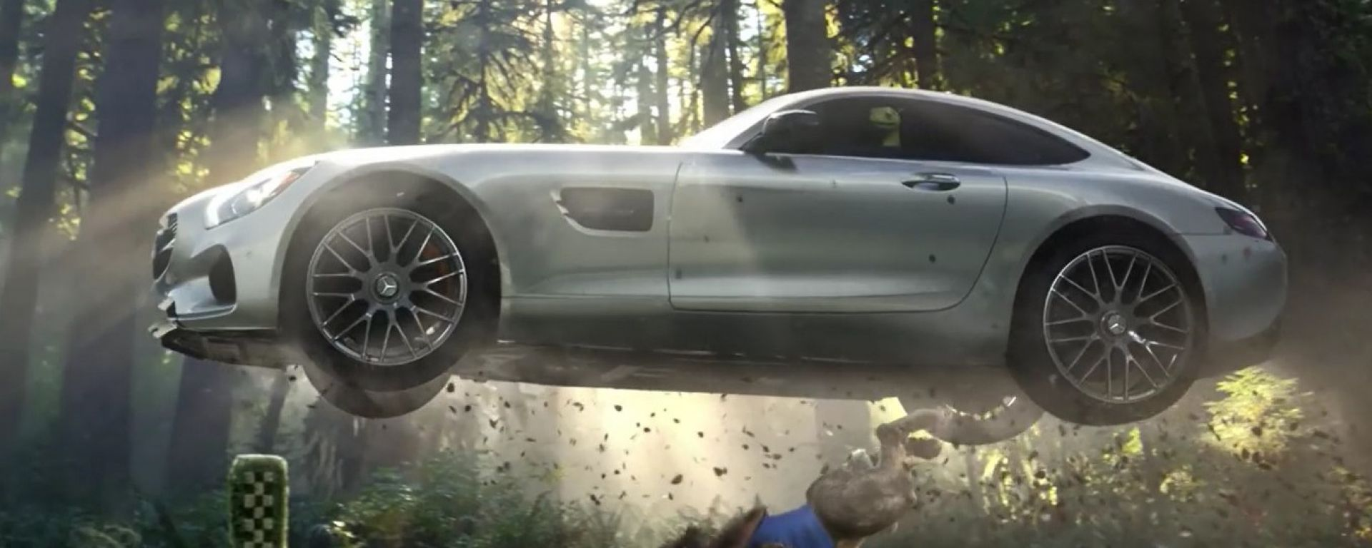 Mercedes AMG GT: The Big Race