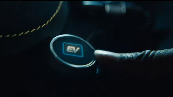 Mercedes-AMG GT3: dettaglio tasto EV mode