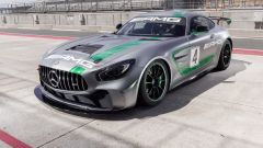 Mercedes AMG GT4 - visuale laterale