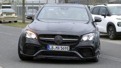 Mercedes-AMG, il frontale del muletto misterioso
