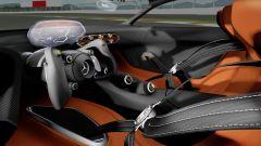 Mercedes-AMG: il futuristico abitacolo della Vision Gran Turismo, dal quale la hypercar potrebbe prendere spunto