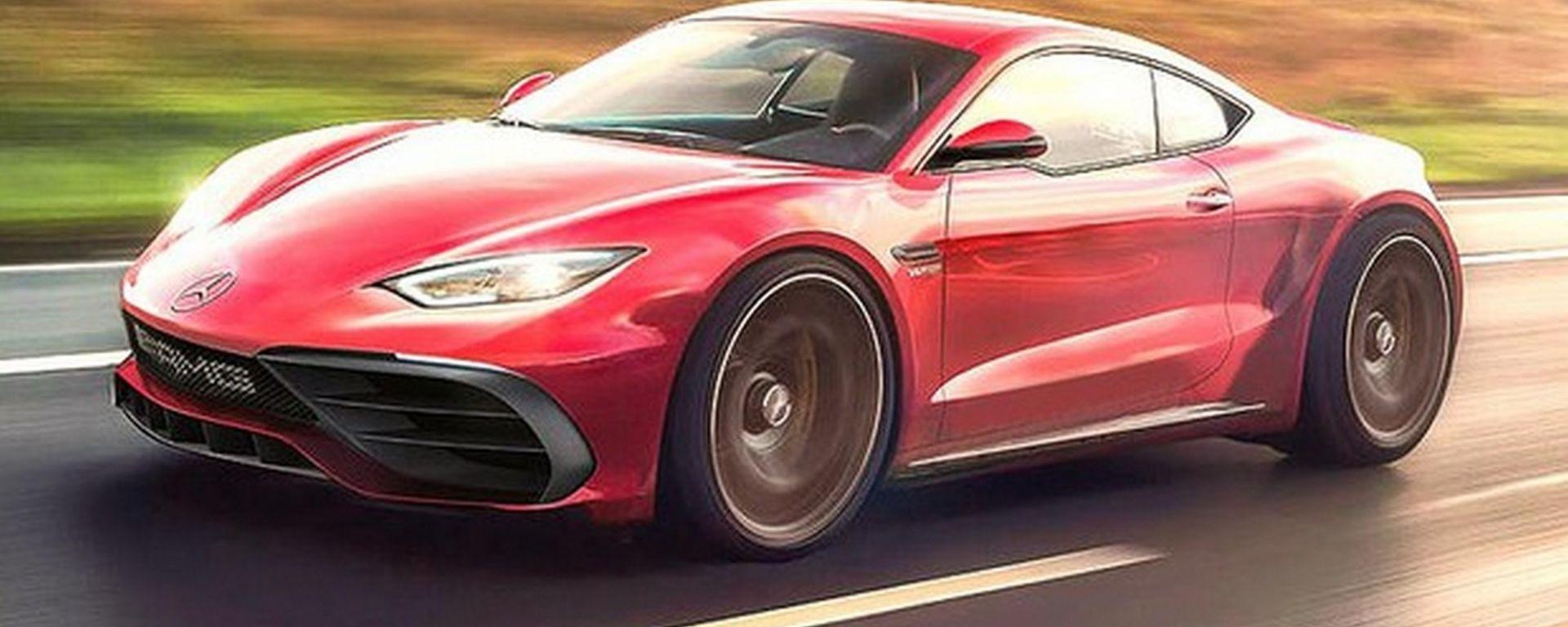 Mercedes AMG, in arrivo una piccola sportiva a motore centrale?