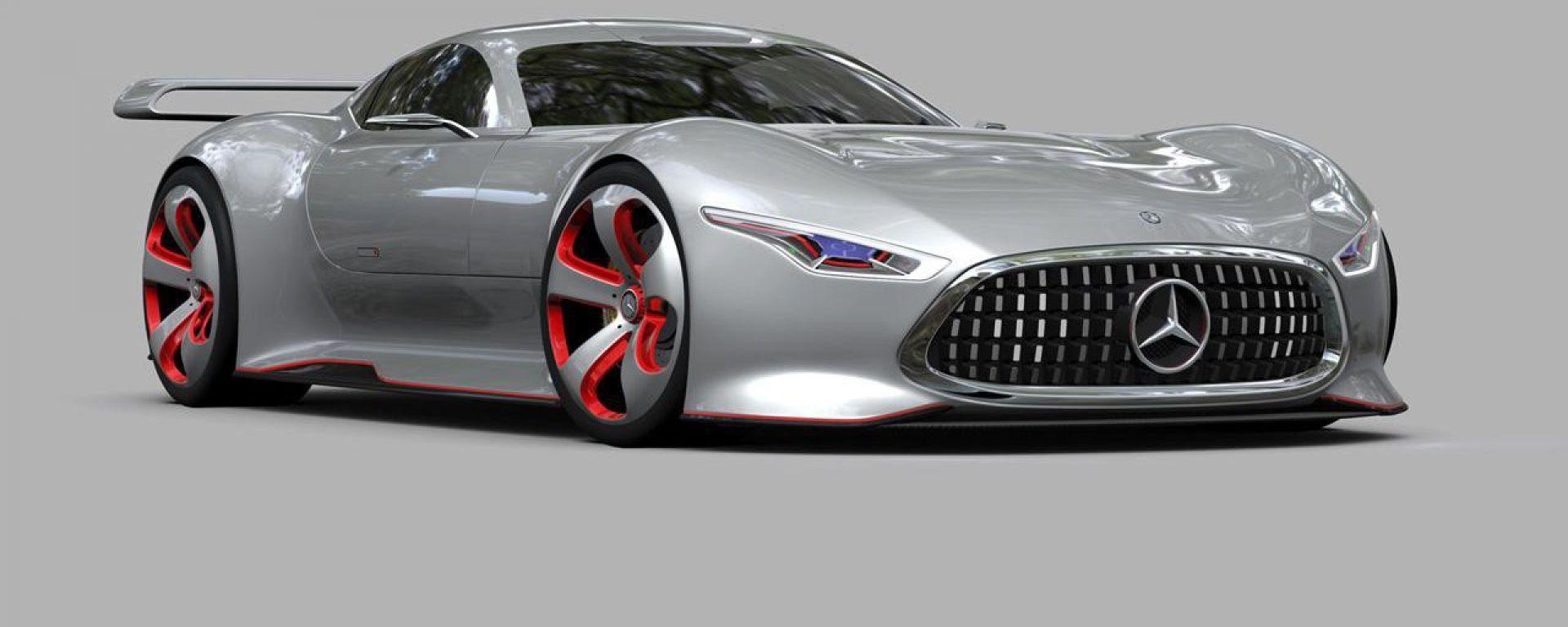 Mercedes-AMG: la hypercar tedesca potrebbe ispirarsi in parte alla Vision protagonista del videogioco Gran Turismo