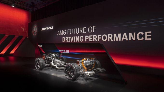 Mercedes-AMG: motori a 4 e 8 cilindri fino a 800 CV di potenza