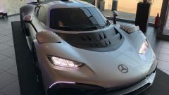 Mercedes AMG One: il frontale