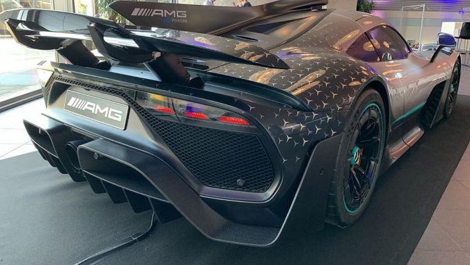 Mercedes AMG One: il posteriore