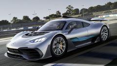 Mercedes-AMG One: visuale di 3/4 anteriore