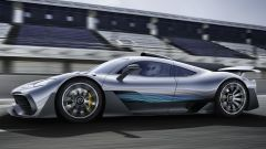 Mercedes-AMG One: visuale laterale