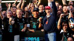 Mercedes AMG Petronas Motorsport - vittoria dei titoli 2014
